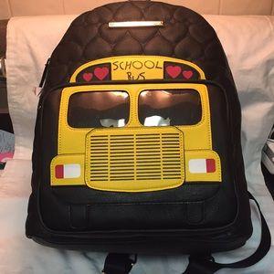 NWT Betsey Johnson school bus backpack!